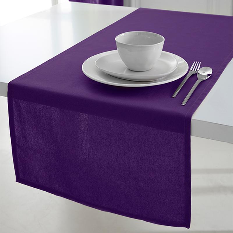 tischl ufer 150x50 cm tischdecke tischdeko dekoration tischband tisch uni deko ebay. Black Bedroom Furniture Sets. Home Design Ideas