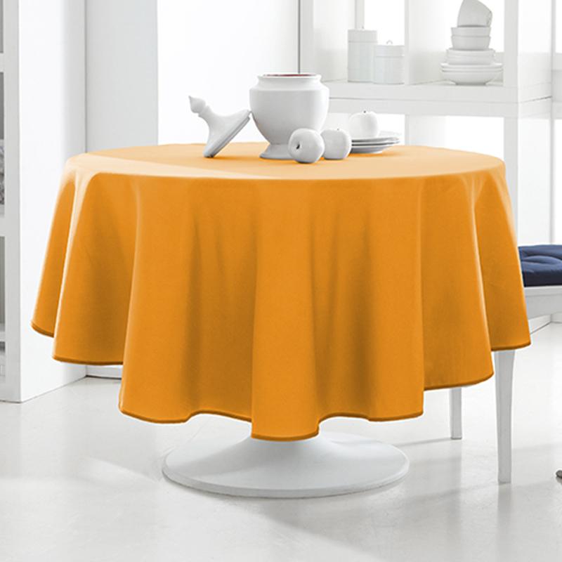 tischdecke rund 180cm 12 verschiedene farben tischtuch tafeltuch design tisch ebay. Black Bedroom Furniture Sets. Home Design Ideas