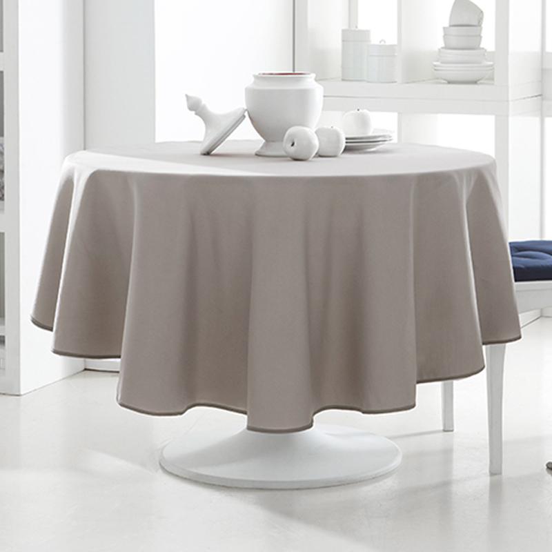 tischdecke rund 180cm 12 verschiedene farben tischtuch tafeltuch design tisch. Black Bedroom Furniture Sets. Home Design Ideas