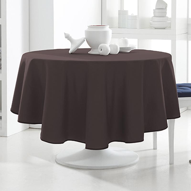tischdecke rund 180cm 12 verschiedene farben tischtuch. Black Bedroom Furniture Sets. Home Design Ideas