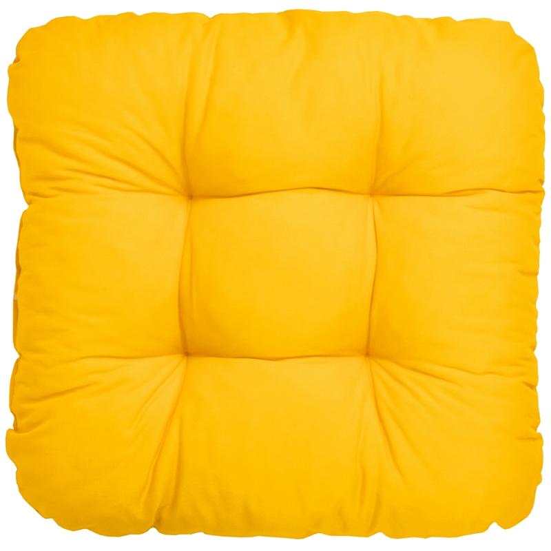 stuhlkissen 40x40x8 cm sitzkissen bodenkissen kissen weich polster bequem garten ebay. Black Bedroom Furniture Sets. Home Design Ideas