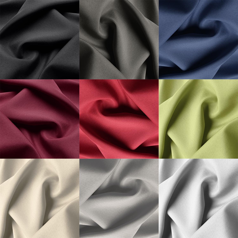 vorhang schlaufenschal blickdicht 140x175 schlaufengardine. Black Bedroom Furniture Sets. Home Design Ideas