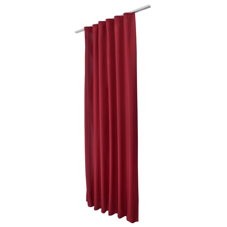 vorhang blickdicht universalband 140x175 cm kr uselband. Black Bedroom Furniture Sets. Home Design Ideas