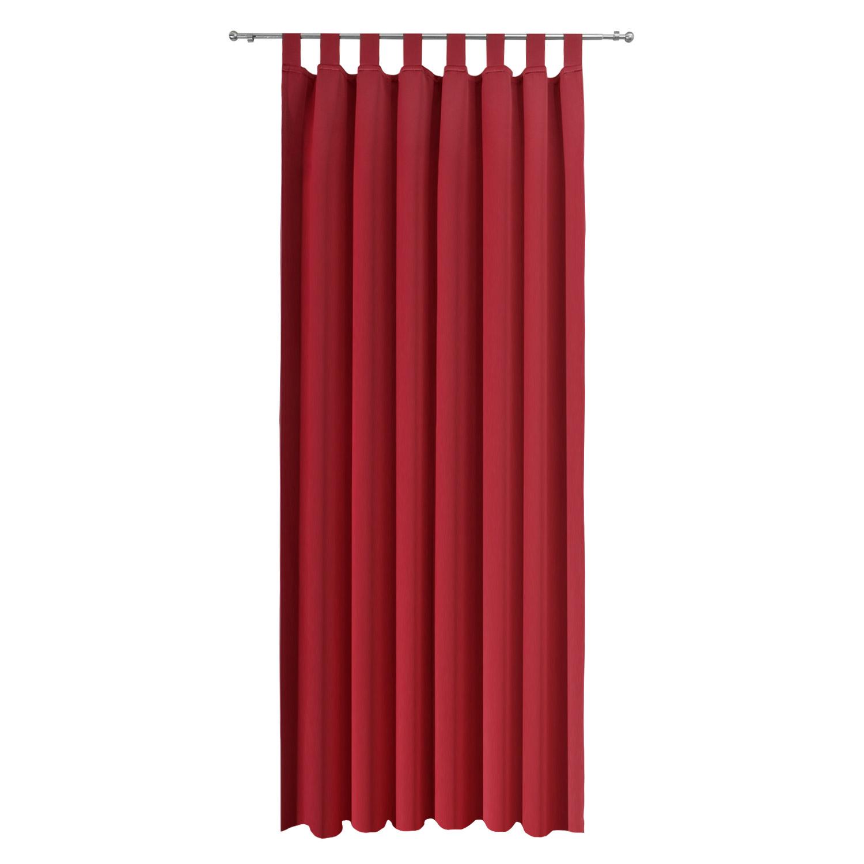 verdunkelungsvorhang 140x245 schlaufenschal blickdicht verdunkelungsgardine uni ebay. Black Bedroom Furniture Sets. Home Design Ideas