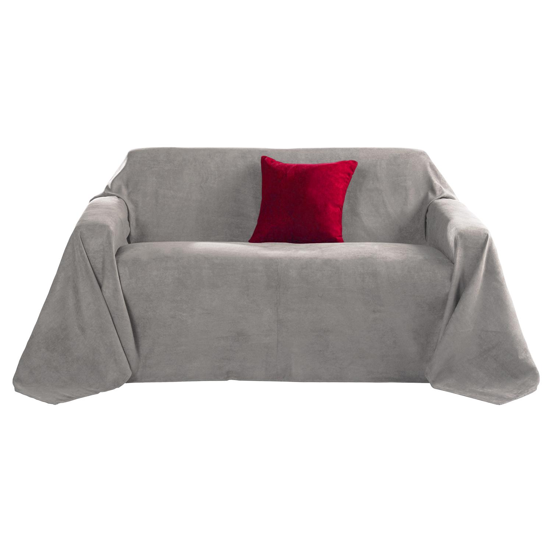 tagesdecke sofa berwurf 210x280 cm plaid bett berwurf sofa couch berwurf decke ebay. Black Bedroom Furniture Sets. Home Design Ideas
