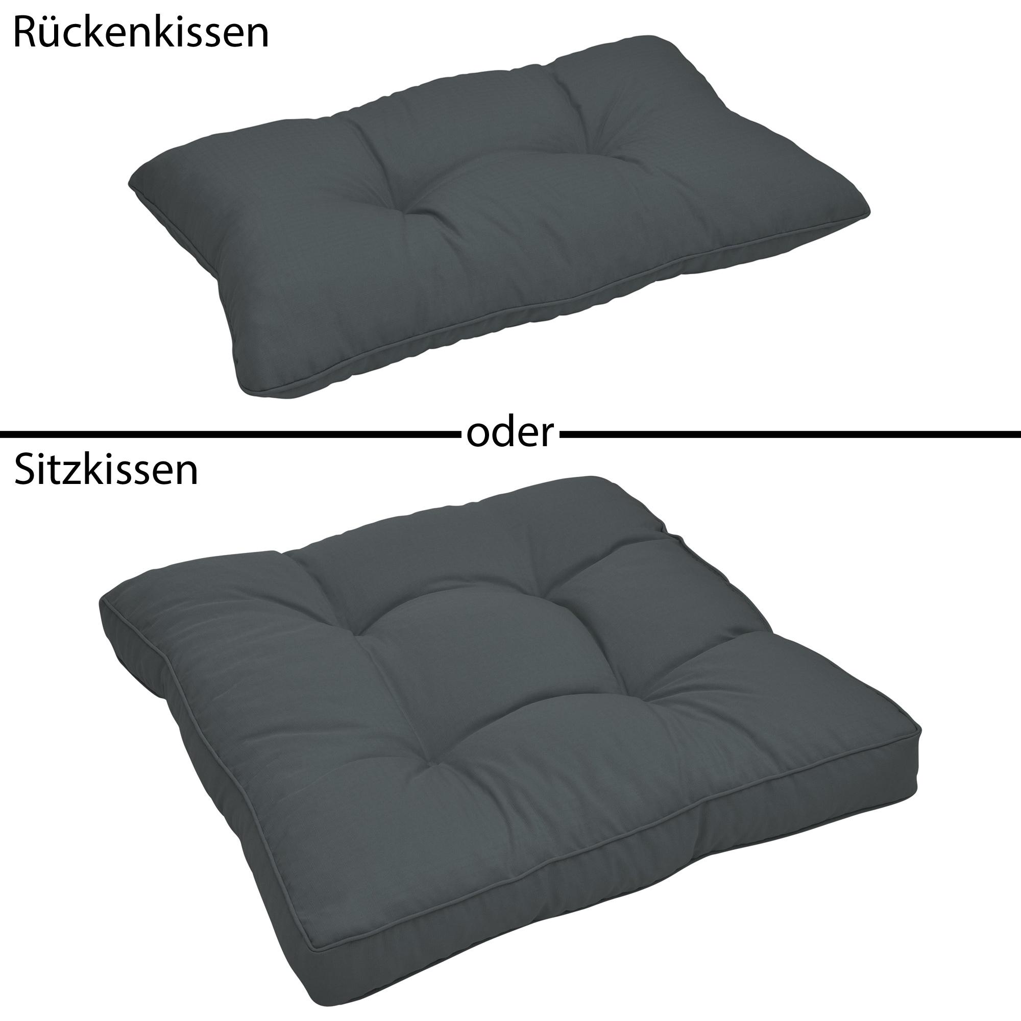 loungekissen polster auflage sitzkissen r ckenkissen bodenkissen lounge kissen ebay. Black Bedroom Furniture Sets. Home Design Ideas